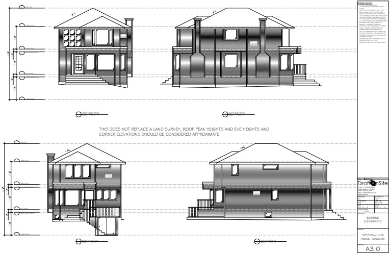 Elevation Drawings by DOS Design Group